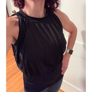 Tops - Dolman sleeve Black Blouse